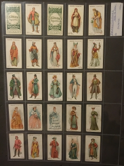 Ogdens - British Costumes From 100 BC To 1904