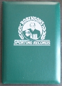 ROBINSONS - SPORTING RECORDS (WITH FOLDER)